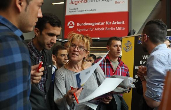 Almanya'da işsizlik rekor seviyeye geriledi