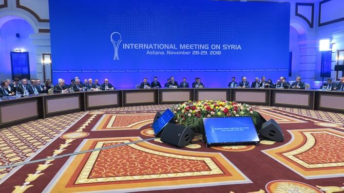 ABD'den Astana görüşmeleri iddiası