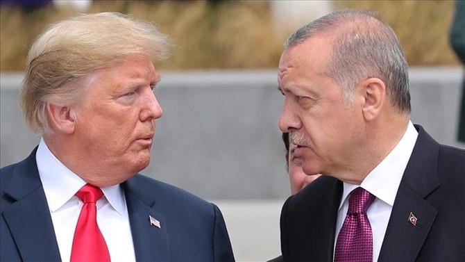 Trump-Erdoğan görüşmesi iptal edildi