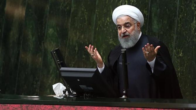 Cumhurbaşkanı Ruhani'nden 'yaptırım' yanıtı
