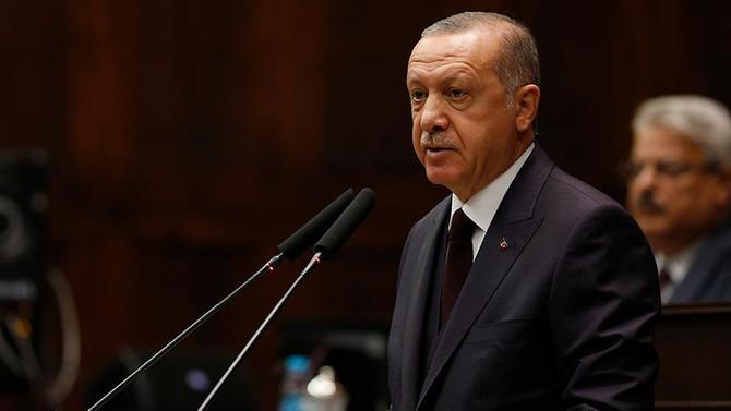 Erdoğan'dan Halkbank açıklaması