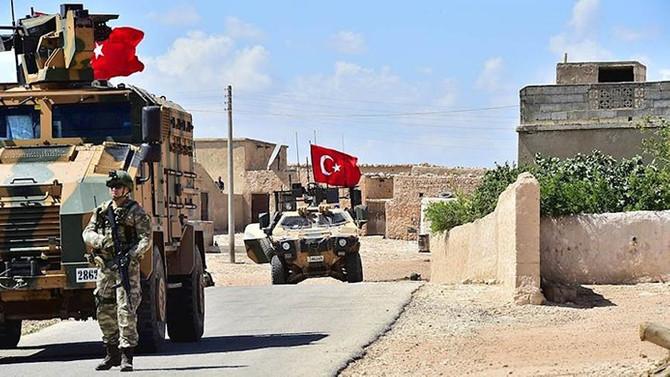 TSK ve ABD ordusu Menbiç'te ikinci ortak devriye faaliyetini icra etti