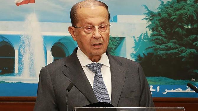Lübnan Cumhurbaşkanı'ndan Suriyeli mülteci iddialarına yanıt