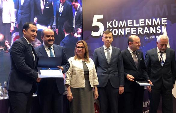 EVSİD'e 'Kolombiya' ödülü