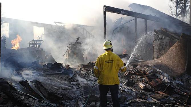 California'daki orman yangınları 5 can aldı