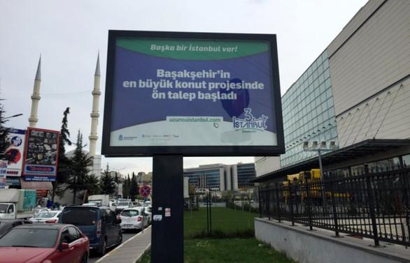 İstanbul'un dijital reklam alanları için ihale