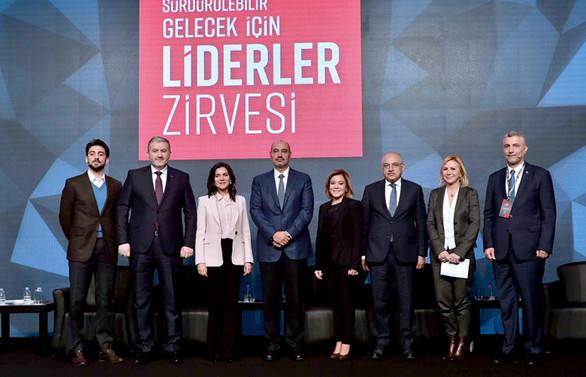 Liderler sürdürülebilir ekonomi için buluştu