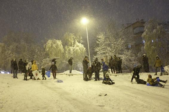 10 şehirde eğitime kar engeli