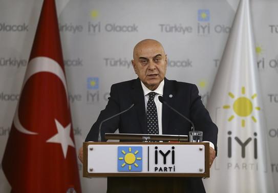 İYİ Parti'den 'Binali Yıldırım' açıklaması
