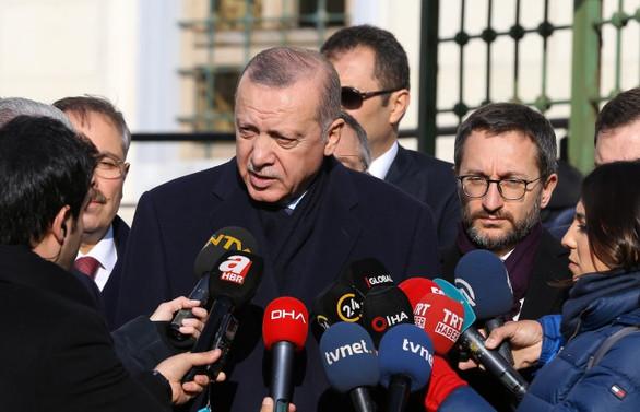 Erdoğan: Terör örgütleri çıkarsa bize de yapacak iş kalmaz