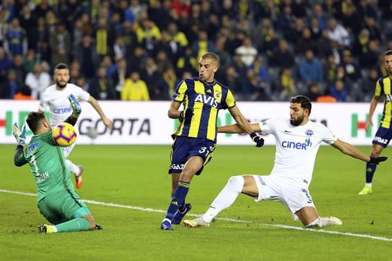 Fenerbahçe'de puan kayıpları sürüyor