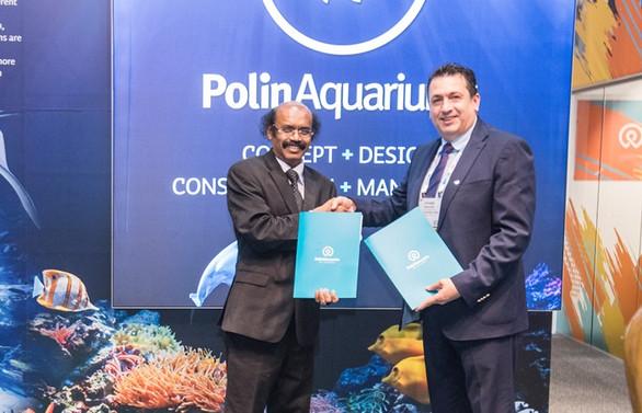 Polin Waterpark, Hindistan'da dev bir akvaryum kuracak