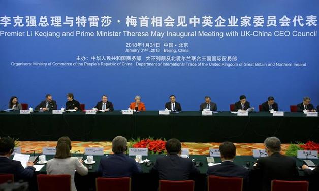 İngiltere, Avrupa'daki kaybını Çin ile dolduracak