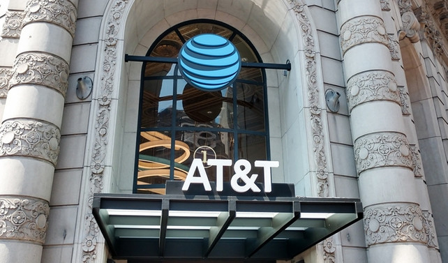 AT&T'nin karında 8 kat artış