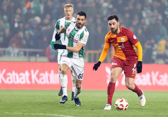 Galatasaray Konyaspor'la berabere kaldı