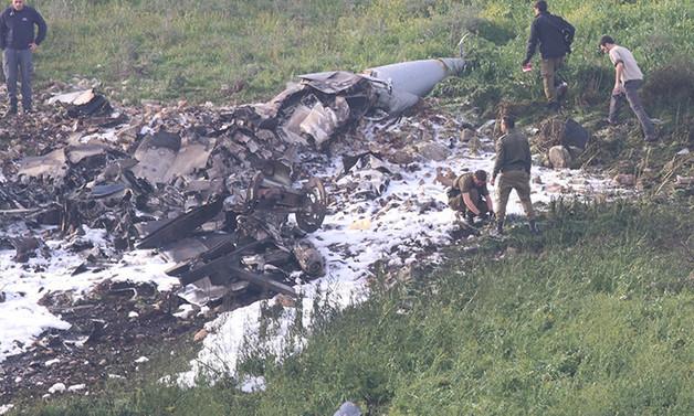 Suriye, İsrail F-16'sını düşürdü