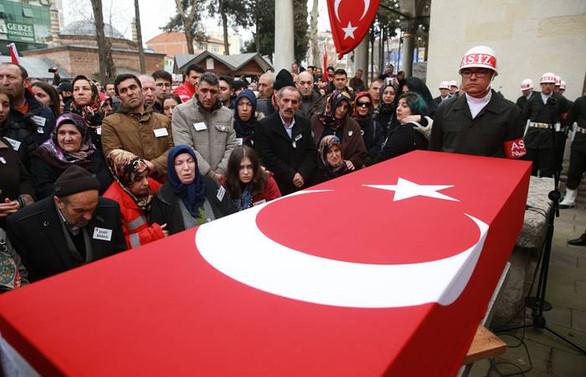 Şehit asker Kocaeli'de son yolculuğuna uğurlandı