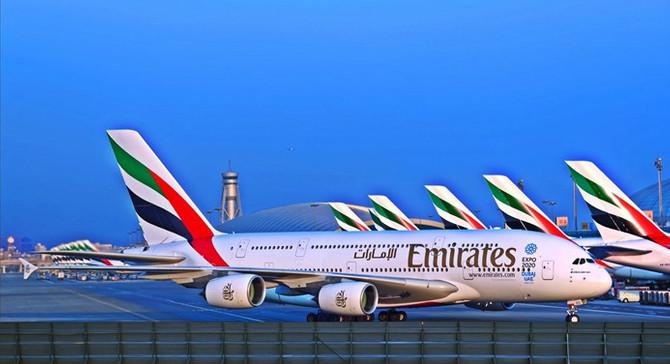 Emirates 20 Airbus uçağı için imza attı