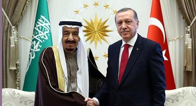 Erdoğan, Suudi Arabistan Kralı'yla görüştü