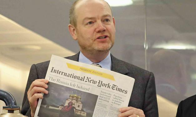 New York Times CEO'su: Yazılı basın 10 yıl sonra bitecek