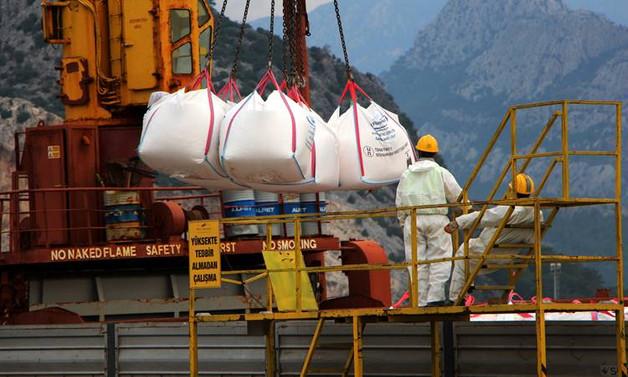 Antalya'dan 2 milyon tonluk mermer ihracatı gerçekleştirildi