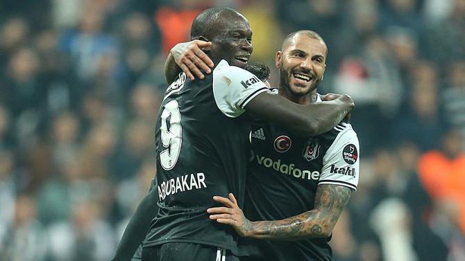 Beşiktaş'tan Quaresma ve Aboubakar açıklaması
