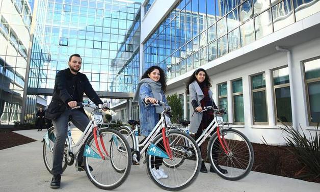 İstanbul Sağlık Müdürlüğü'nden İstanbul Şehir Üniversitesi'ne 200 bisiklet