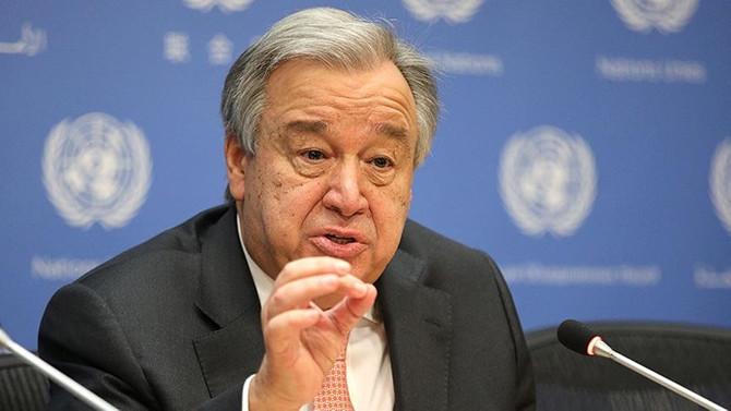 Guterres'ten Suriye uyarısı