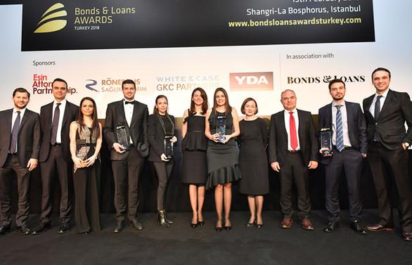 2018 Türkiye Bonds & Loans Ödülleri sahiplerini buldu