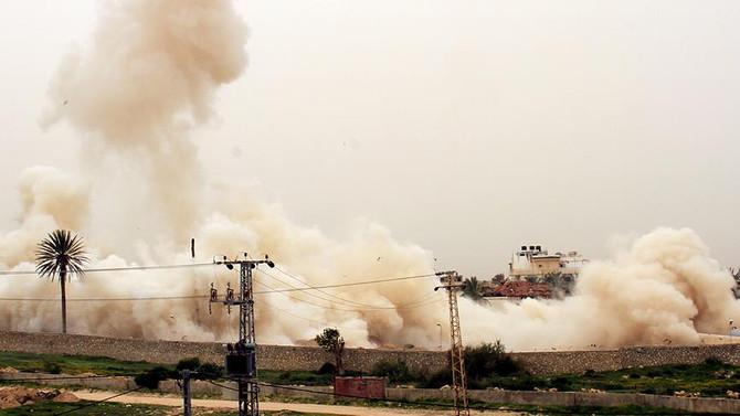 Gazze sınırında patlama: 4 İsrail askeri yaralandı