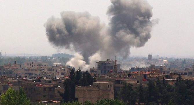 Suriye'nin Kamışlı kentinde patlama