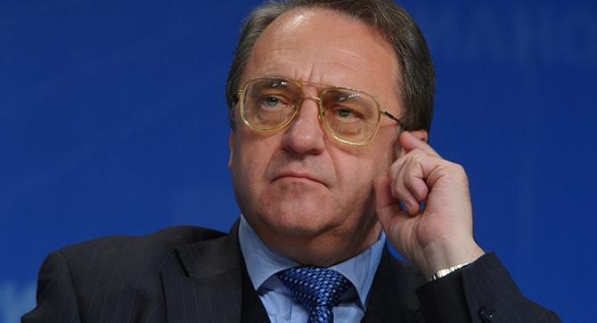 Bogdanov: Rusya, Afrin için arabuluculuk yapmaya hazır