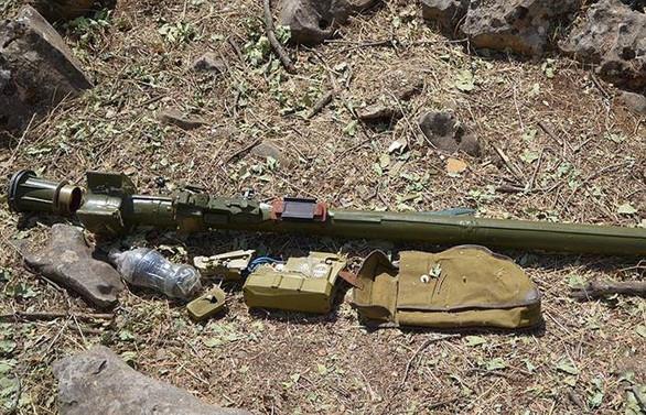 Afrin'de hava savunma füzesi ele geçirildi