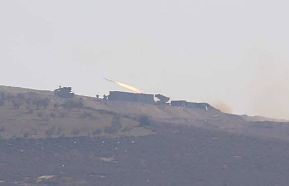 Terör mevzileri çoklu roketatarlarla ateş altına alındı
