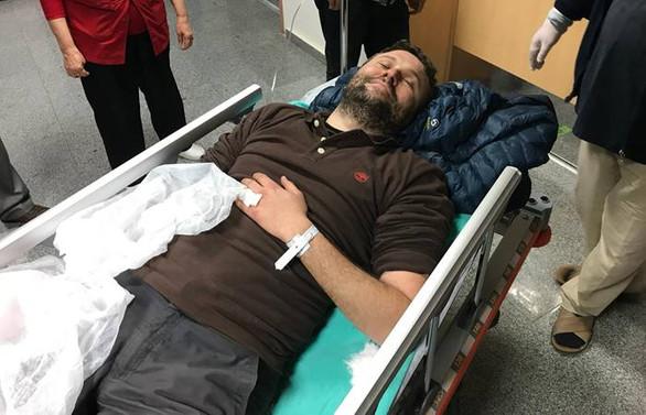 AA muhabiri Afrin'de yaralandı