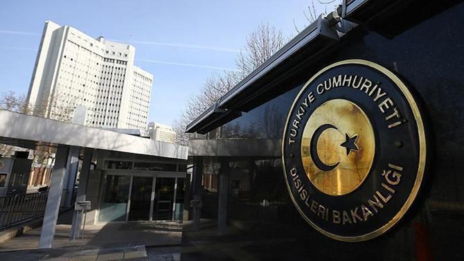 Türkiye'den, Hollanda'nın kararına kınama