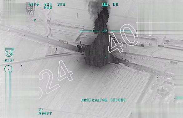 TSK, terör örgütü konvoyunu vurdu