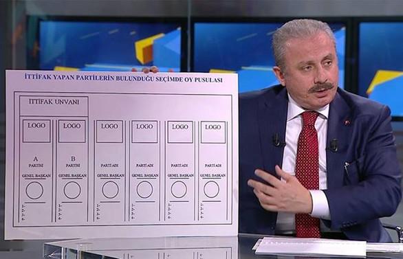 Yeni sistemde oy pusulası nasıl olacak?