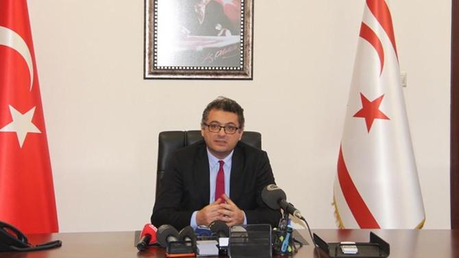KKTC Başbakanı Erhürman'dan Rum Yönetimi'ne doğalgaz tepkisi