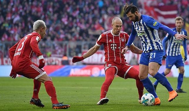 Bayern Münih 10 hafta sonra puan kaybetti