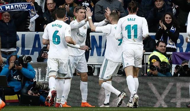 Real Madrid evinde farklı kazandı