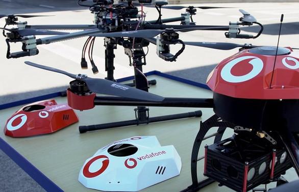 Vodafone, drone tehditlerini engellemeye çalışıyor