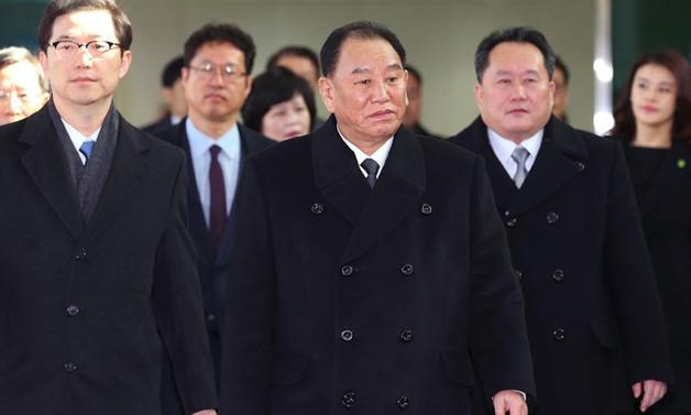 Üst düzey Kuzey Kore heyeti Güney Kore'de