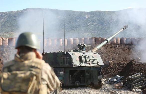 TSK: Afrin'de 2083 terörist etkisiz hale getirildi