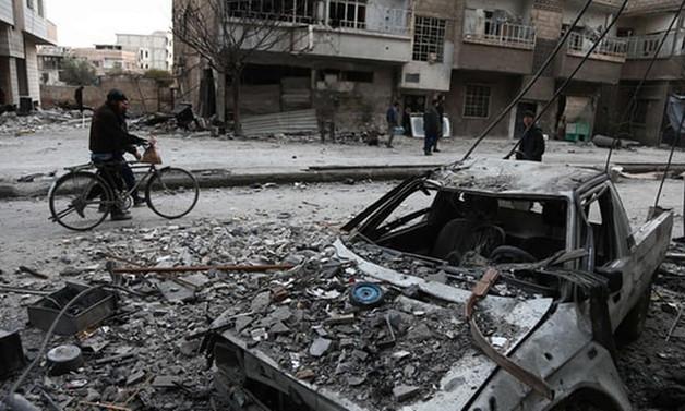 Rusya'nın Suriye'deki beş saatlik ateşkesi başladı