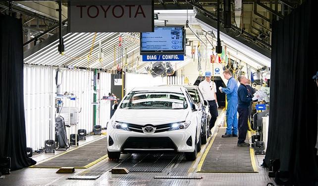 Toyota, yeni Auris'i İngiltere'de üretecek