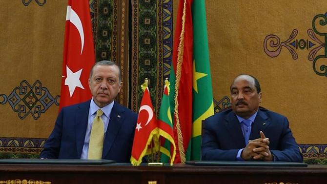 Erdoğan, Moritanya Cumhurbaşkanı Abdulaziz ile görüştü