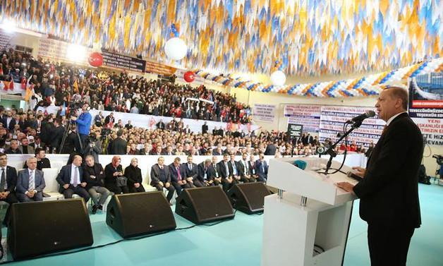 Erdoğan: Afrin'e doğru ilerliyoruz, az kaldı