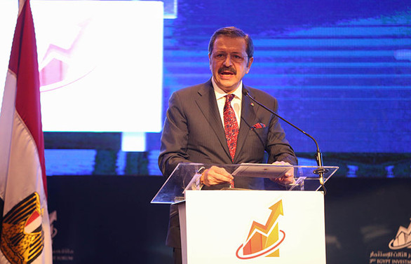 Hisarcıklıoğlu: Türkiye Mısır'ın dördüncü ticaret ortağı
