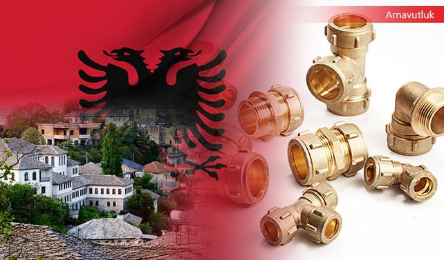 Arnavutluk firması pirinç fitting talep ediyor